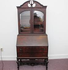 antique secretary desk from the illinois cabinet company ebth