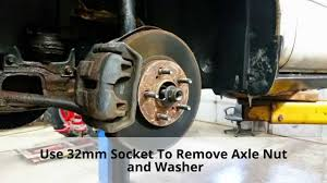 Replace Front Wheel Bearing Hub Ford Taurus Mercury Sable