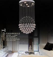 Crystal Chandelier Ball Top Sales Ball Design Crystal Chandelier Modern Led Lamp Diameter