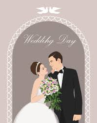 wedding invitations vector and groom wedding invitation vectors