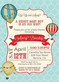 free printables for a air balloon baby shower could work for