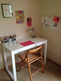 how to make a child s desk notes from home kids work space