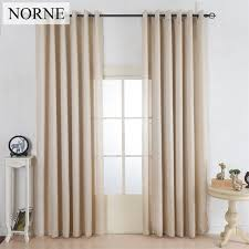 Country Style Window Curtains Norne Faux Silk Country Style Window Curtains Light Filtering