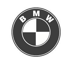 black and white bmw logo 1 source design