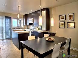 modele de cuisine ouverte sur salle a manger indogate com suspension moderne salle a manger