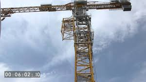 liebherr tower crane 1000 ec b 125 litronic climbing youtube