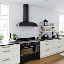 light brown kitchen cabinets with black appliances which appliance finish should you choose lanes