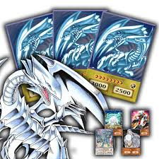 blue eyes deck anime style