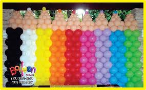 pencils balloons theme pinterest balloon wall