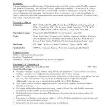 php developer resume template amusing php programmer resume doc for web templates developer