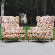 Outdoor Wingback Chair Wingback Chairs Twinfibers