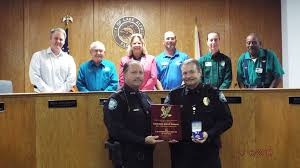 police department recognition my lake alfred