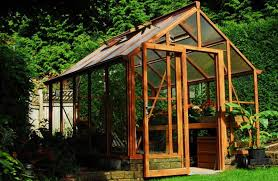 garden greenhouse landscape gardening ideas