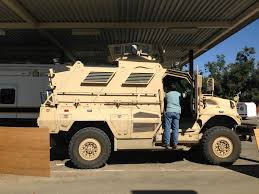 tactical vehicles for civilians clovis has an mrap is that ok with you valley public radio