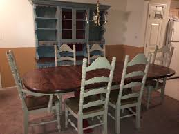 Country Dining Chairs Antique Country Ladderback Chairs By Vintageglamandchic