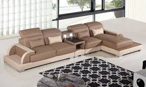 Left Sectional Sofa Ritz Two Tone Modern Sectional Sofa