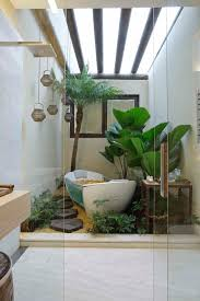 Rainforest Shower Curtain - rainforest bathroom with lightwell bathroom contemporary and