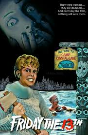 friday the 13th 1980 horror movie slasher poster fan made edit