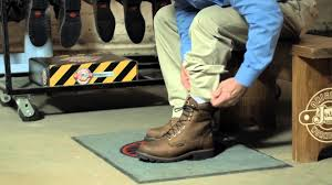 how to fit your lace up justin original workboots youtube
