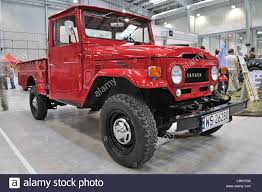 land cruiser pickup vintage pick up car toyota land cruiser j20 stock photo royalty