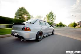 evo 8 spoiler stancenation features an sweet 431 whp mitsubishi evolution