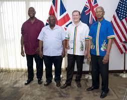 Bvi Flag Best Boondoggle Yet Mapp Senators Cabinet Members Enjoy The