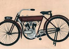 harley davidson1900 old bicycle antique vintage artwork india