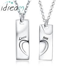 mens engraved necklaces matching necklaces you engraved tag pendants set sterling