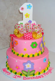1 year birthday cake for baby decorating of party