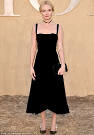 the black dress kate bosworth stuns in black dress at event daily mail online