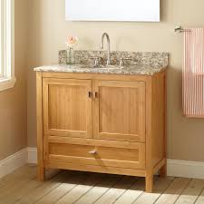 Bamboo Bathroom Cabinet 36