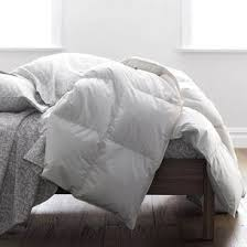 The Bay Duvets White Bay Euro Down Comforter The Company Store