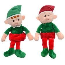 bulk christmas bulk christmas house plush elves 9 in at dollartree