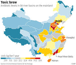 Tianjin China Map China Consumes Almost Half The World U0027s Antibiotics And They U0027re