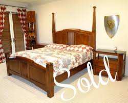 Thomasville King Bedroom Set Impressions By Thomasville King Bedroom Set Glossy Laminate Wood