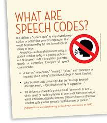 the right for offence vs the freedom of speech at universities