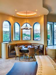 dining room elegant dining furniture design with curved banquette