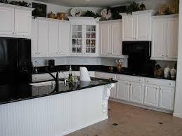 antique white kitchen ideas antique white kitchen cabinets with black appliances inspirations