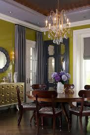 dining rooms greenish yellow walls ceiling lights luxury
