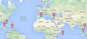 map russia to usa russia seeks access to bases in eight countries for its ships and