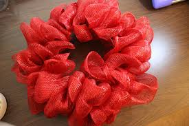 ribbon wreath how to make a mesh ribbon wreath chica and jo