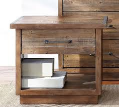 Pottery Barn Sausalito Bedroom Amazing Sausalito Bedside Table Pottery Barn In Wooden Bed