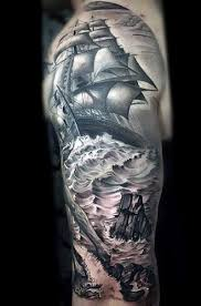 9 stunning ship tattoo ideas designs and meaning styles at life
