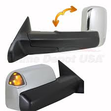 towing mirrors for dodge ram 3500 2012 12 ram 1500 2500 3500 power led signal heated memory chrome