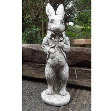 garden ornaments by onefold an23 large rabbit garden