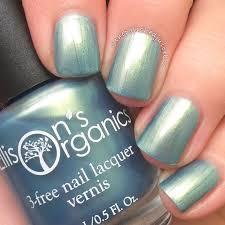 light blue nail polish shimmer nail polish vegan nail lacquer