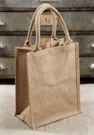 bulk burlap bags burlap tote bag bulk pack of 6 gusset with handles 11