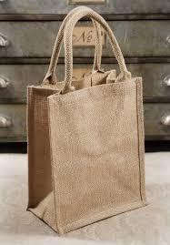burlap tote bag bulk pack of 6 gusset with handles 11