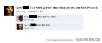 Pics For Gt Funniest Text - cyber bullying the meta picture