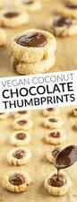 coconut chocolate thumbprints healthy nibbles u0026 bits